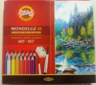 ART set - Aquarelová sada 48 ks- Mondelúz -