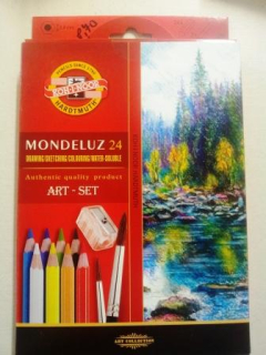 ART set - Aquarelová sada 24 ks- Mondelúz -