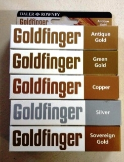 patinovacia pasta Goldfinger - Green gold